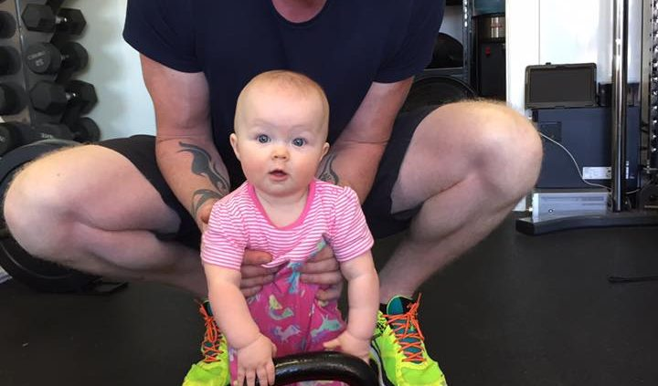 Personal Trainer in Milton Keynes with Daughter